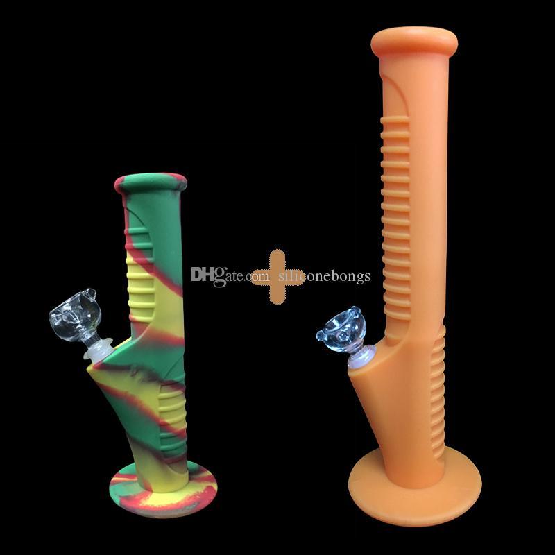 01Free shipping fuls nuevo conjunto de Silicona Mini Tubos de Agua y Tubos de Agua de Silicona pipas de vidrio pipas de agua de vidrio