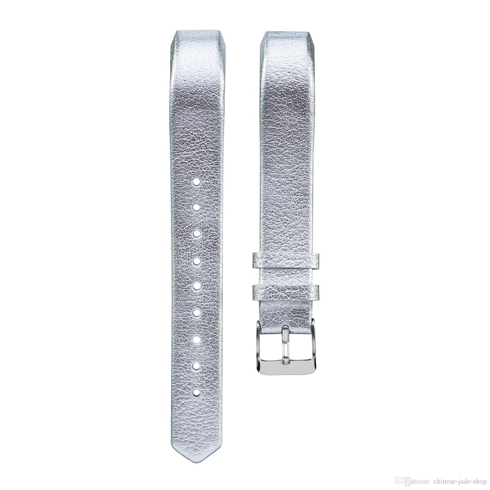 Головной слой натуральной кожи натуральной кожи ремешок для Fitbit Alta Alta HR ремешки ремешок браслет 10 цвет 10 пара /лот