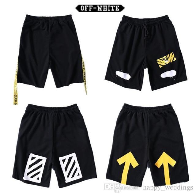 2017 Off White Men Short Pants Brand Clothing Offwhite Shorts HipHop  Streetwear Men Women Casual Shorts Off White Men Sweatpants UK 2019 From  Baboli692 618cf6c7c