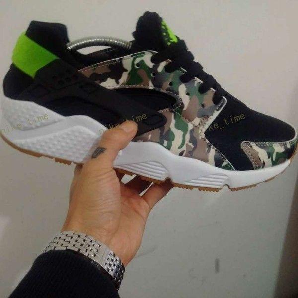 the best attitude 28642 2cd49 Men Kendra Thomas Huarache Custom CAMO Famous Brand Custom Designer Sneaker  Huaraches Running Sports Shoes Size Us7 11 Sport Shoes Mens Sneakers From  ...