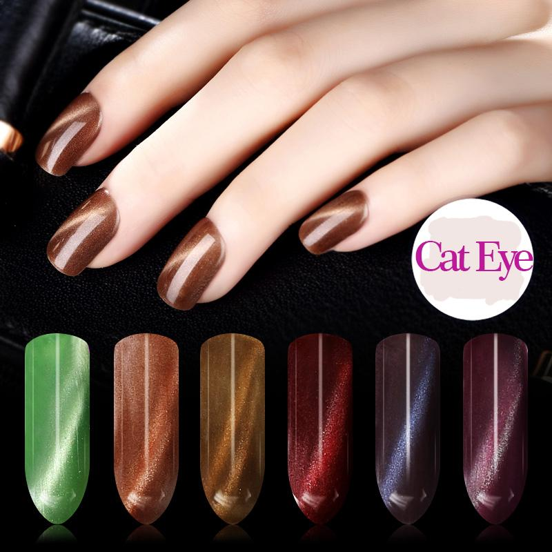 Wholesale Sioux 6ml Nail Cat Eye Color Gel Polish Magnetic Change Uv ...