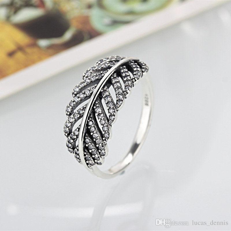 pandora feather ring
