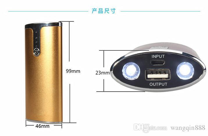power bank 5600mAh dual LED USB universal all branded mobile Tablet PC