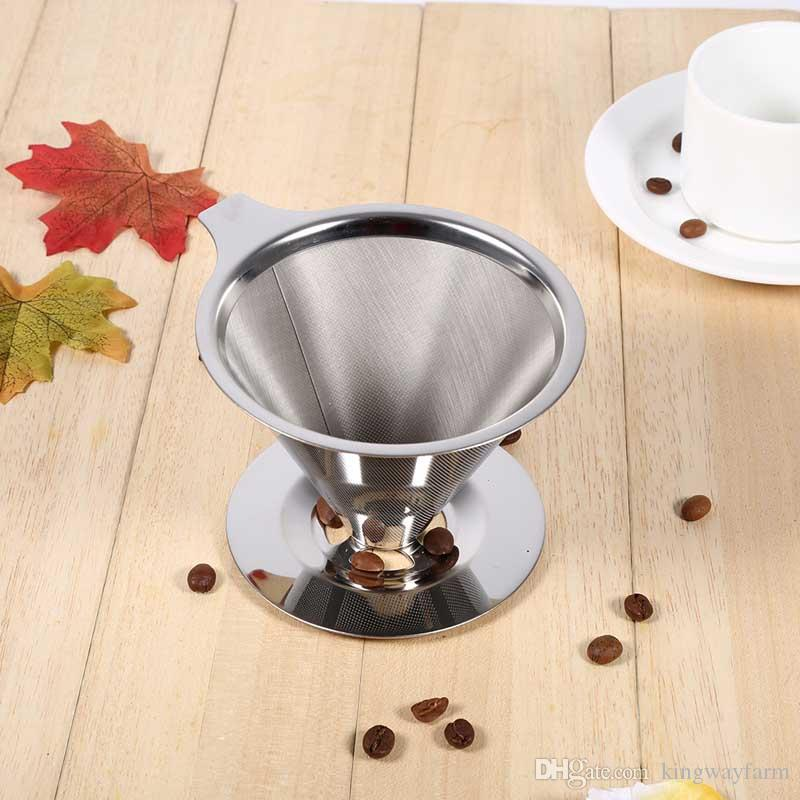 2017 Berglander Stainless Steel Pour Over Cone Coffee Dripper