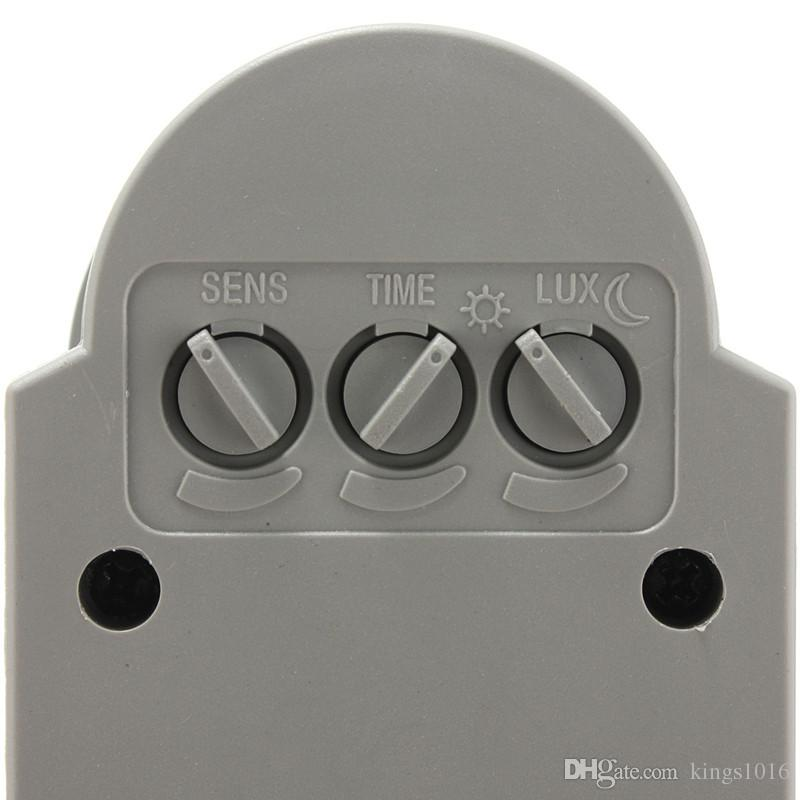 New Outdoor Wall Light Lamp LED PIR Infrared Motion RF Switch Sensor Detector 12M AC85V~260V Automatic Convenient Safe