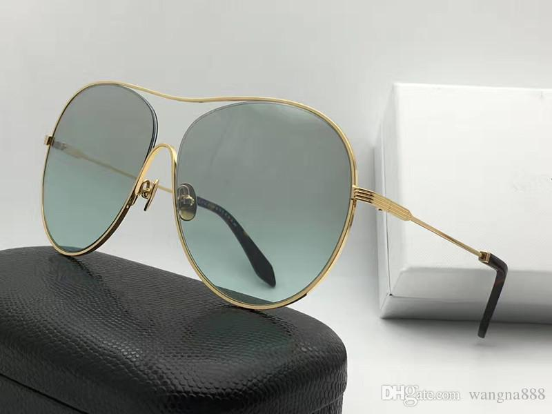 7c17e83726 131 Sunglasses Women Brand Designer Victoria VBS131 Luxury Popular  Sunglasses UV Protection Lens Oval Big Frame Top Quality Come With Case  Glasses Online ...