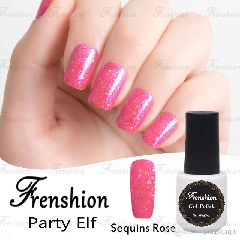 Frenshion Wholesale Free Samples 2017 Bling Sequins Rose Glitter For ...
