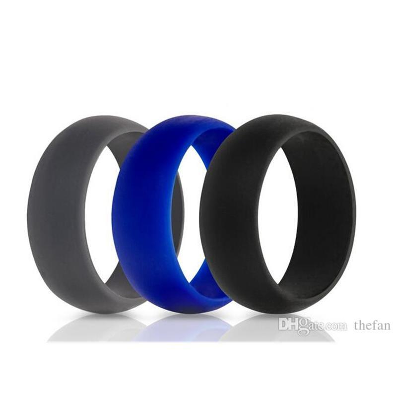Silicone Wedding Ring Flexible Hypoallergenic Silicone O Ring
