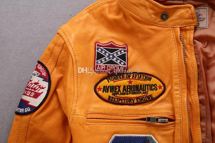 AIR DROME AVIREX AERONAUTICS RECIPITORY ENGINE giacche da volo 100% vera pelle DIVISIONE giacche moto
