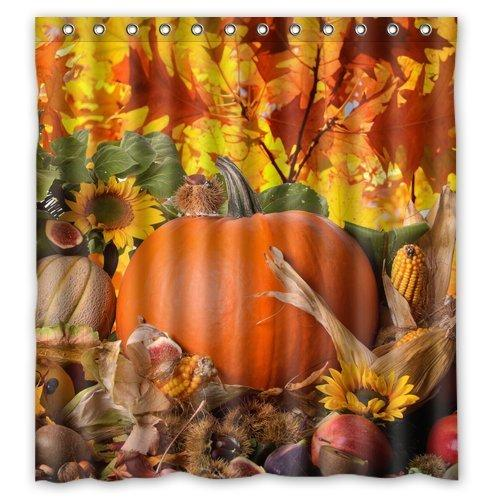 2019 Autumn Leaves Happy Thanksgiving Day Pumpkin Sunflowers