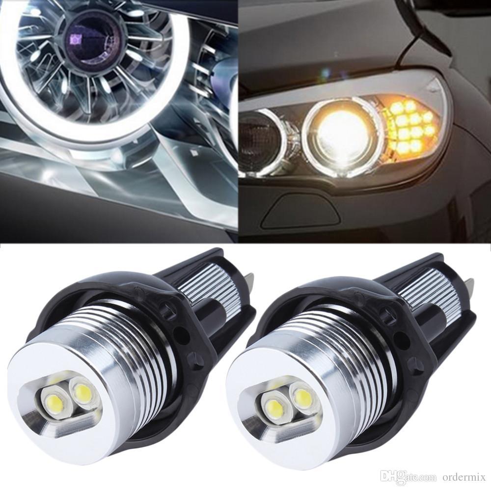 엔젤 눈 차 자동 백색 LED 빛은 BMW E90 세단 2006-2008 년을 위해 적합하다