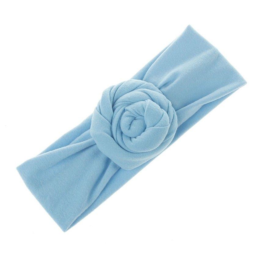 Bébé nourrisson Top Knot Bandeau Filles solide Turban Hairband élastique Nouveau-né bébé mignon Headwrap enfants Accessoires cheveux