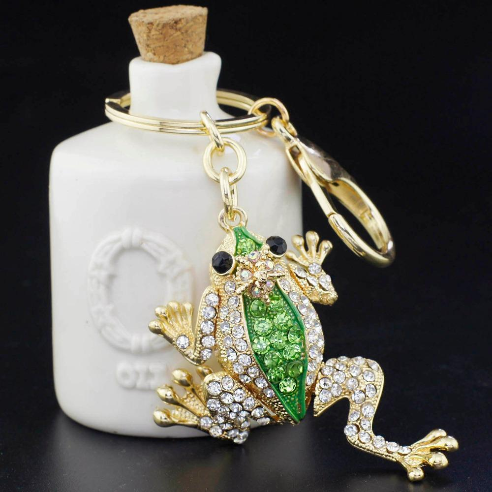 Unique Crown Frog Keyring Keychain Fashion Metal HandBag Pendant Purse Bag  Buckle Key Chains Holder Accessories Gift High Quality Gift Digital China  Gift ... 272b95685ffa