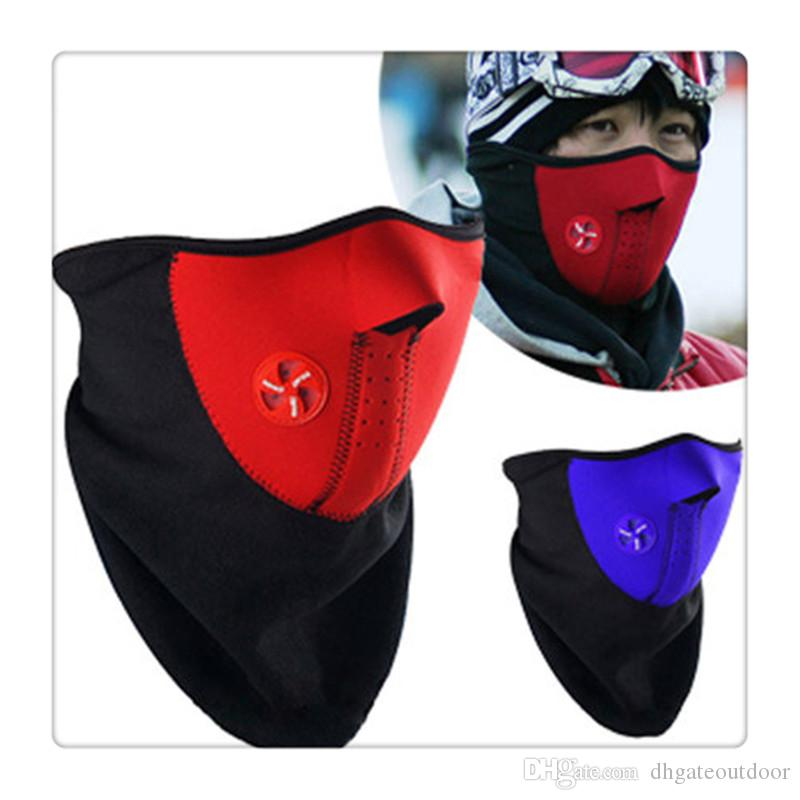 Outdoor Sports Cycling Gear Mask Face Masks Ski Mask Neck Warmer Ski Ice Fishing Hunting Nordic Skiing Motorcycle Winter Warm Free Shipping