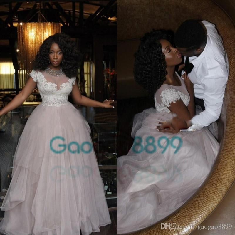 Light pale Pink Prom Dresses 2019 Arabic Jajja-Couture Tulle with white Appliques Vestidos Evening Gown in Dubai