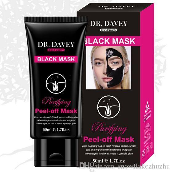 50ml active bamboo charcoal black peel head mask Purify detoxification anti-wrinkle lift firming activating moist deep clean