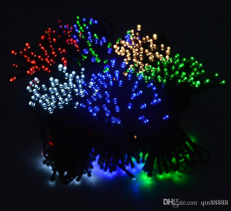 100 LED Outdoor Solar Lamps LED String Lights Fairy Holiday Christmas Party Garlands Solar Garden Waterproof Lights