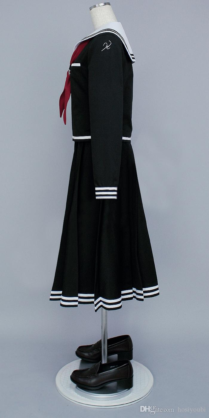Dangan Ronpa Fukawa Touko cosplay cadılar bayramı cosumes