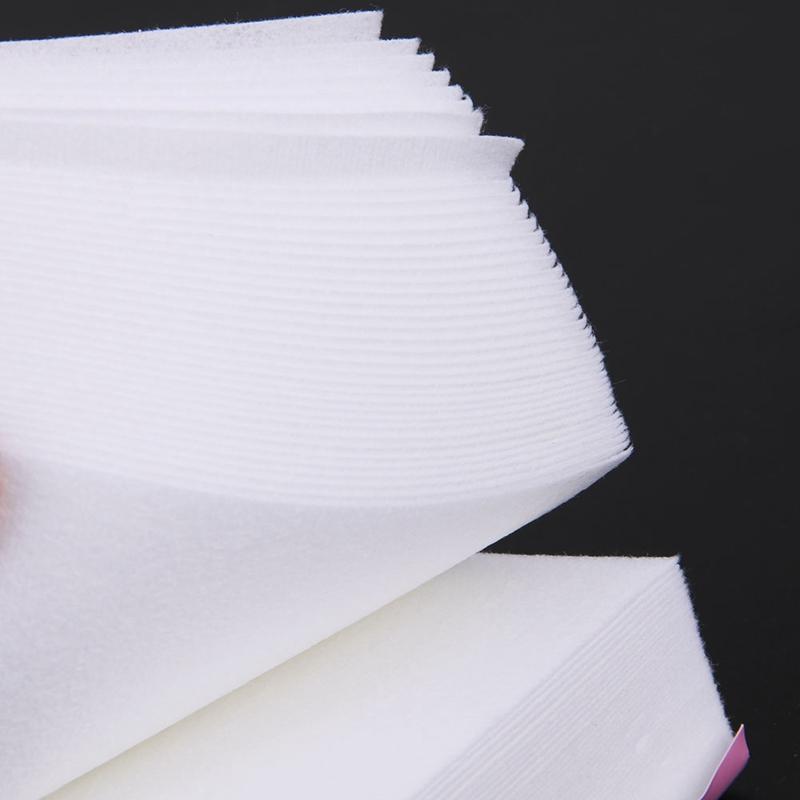100 قطعة / الحزمة خاص سميكة إزالة الشعر الشمع قطاع أوراق غير المنسوجة النساء الذراع الساق إزالة الشعر الصبح الشمع ورقة الشريط