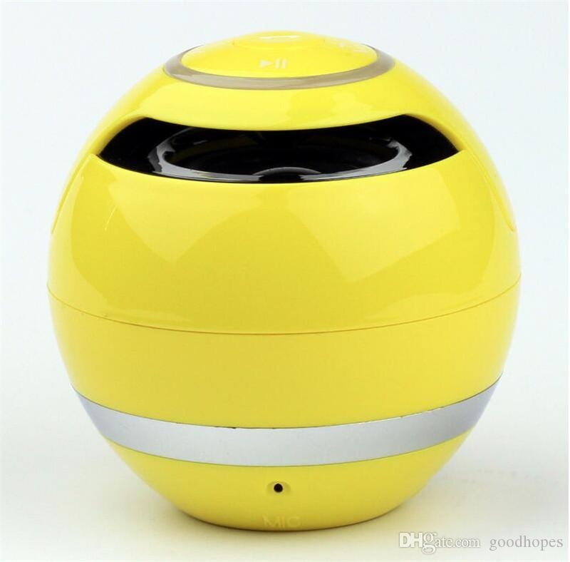 YST-175 Bluetooth Portable Speaker Mini Ball Wireless Speakers Super Bass Stereo Handsfree Subwoofer With Mic TF Card LED Light Music Player