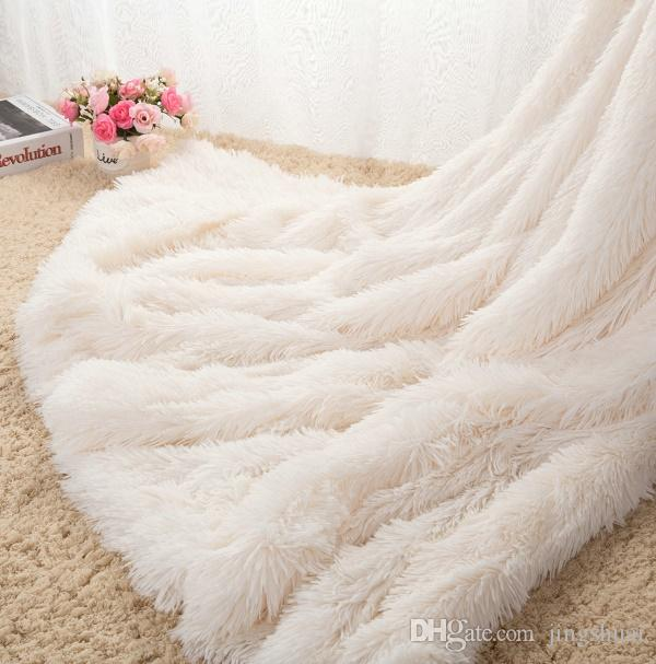 Throw Blankets Interesting Throw Blanket Mantas White Pink Grey Fleece Fluffy Plush Bedspread