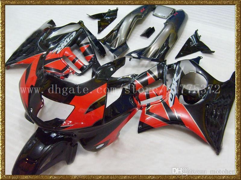 купить оптом черный красный обтекатель комплект для Honda Cbr600f3