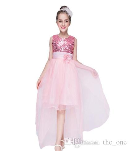 2018 baby girl wedding dress children clothing girl dresses kids 2018 baby girl wedding dress children clothing girl dresses kids long tail evening party gown for teenager from theone 1232 dhgate junglespirit Gallery