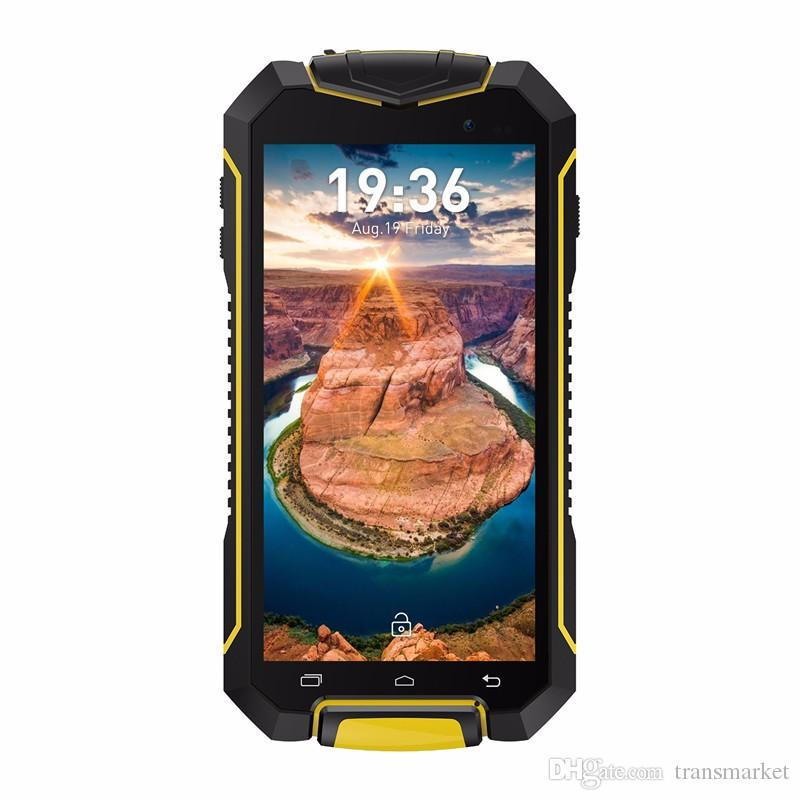 A1 Smartphone IP67 Waterproof Mobile Phone Android 7.0 MTK6580M Quad-core 1.3GHz 1GB RAM 8GB ROM Dual Camera Mobilephone Hot Sale