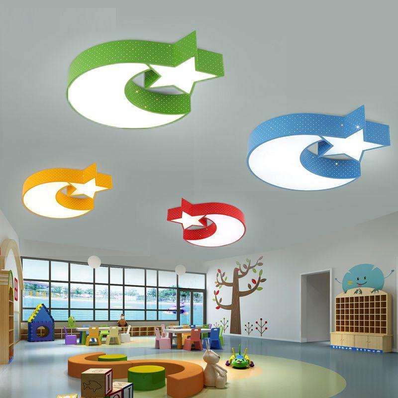 Großhandel LED Kinderzimmer Deckenleuchten Schlafzimmer Cartoon ...