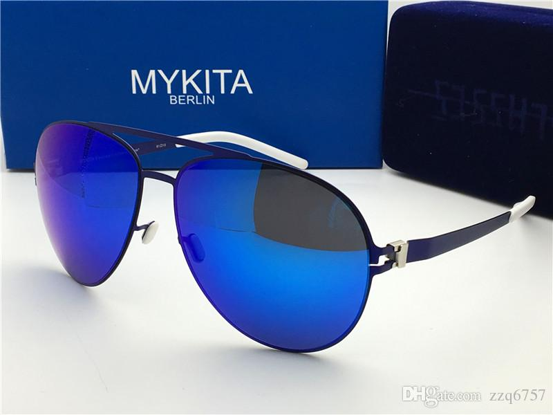 70a63a0b8e23 New Mykita Sunglasses Ultralight Frame Without Screws ERWIN Round ...