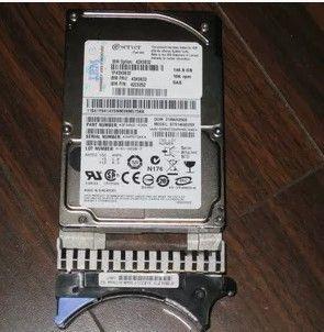 IBM için% 100 çalışan Sabit Diskler 43X0832 43X0833 146G 10K SAS 2,5 / IBM 40K1040 146G 10K SAS 3.5