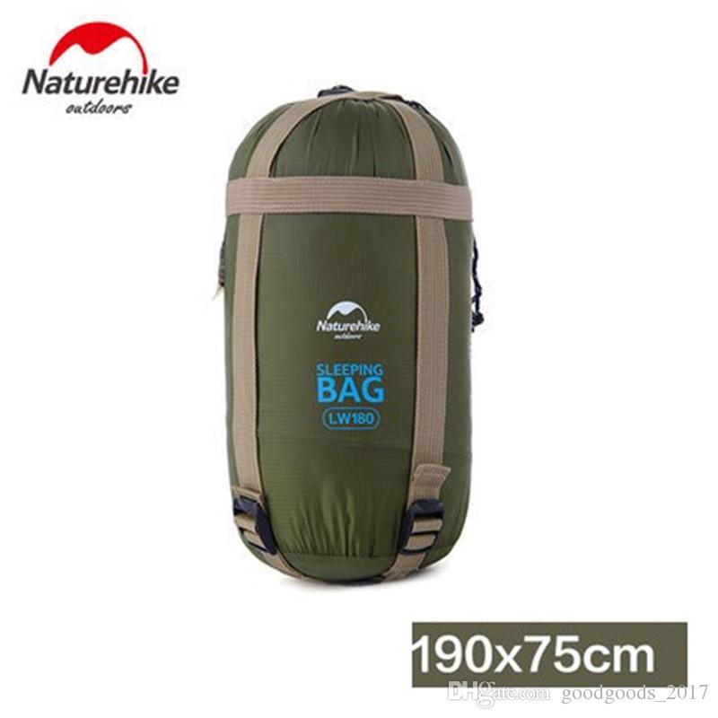 야외 휴대용 봉투 슬리핑 백 190 * 75cm 여행 가방 하이킹 캠핑 장비 야외 기어 수면 패드 M222