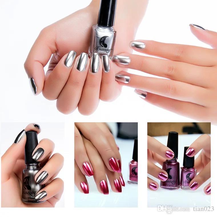 Quartly Mirror Nail Polish, Shinning Makeup Polish Nail Painting Art ...
