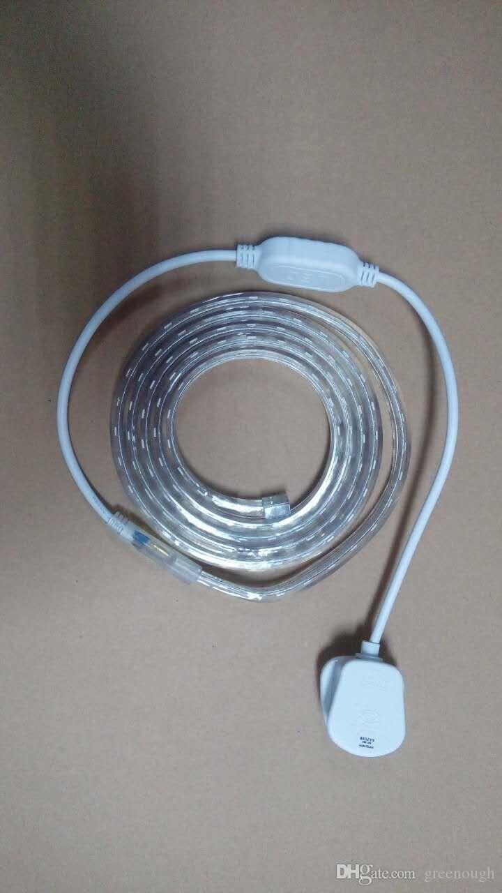 Stromkabel RGB-Controller-Endkappenclips und weiteres Zubehör für Hochspannungs-Lichtleisten 2835SMD 5050SMD Einfarbig und RGB-Farbe