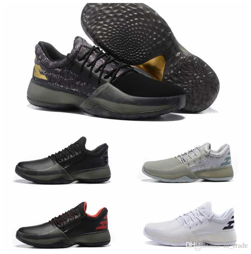 861c43c29b8f 2017 new harden vol. 1 mens basketball shoes black white orange wholesale  fashion james harden shoes  new james harden shoes