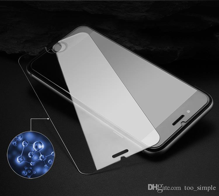 Vetro temperato di alta qualità 9H iPhone 7 Plus HD Protector 2.5D iPhone 6 6s Plus LG G5