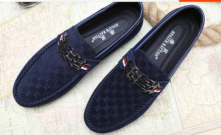 حار الأزياء القيادة أحذية متعطل الرجال أحذية الرجال المتسكعون الفاخرة الجديدة عالية الجودة شقة واحدة أحذية للرجال عارضة حذاء شحن مجاني