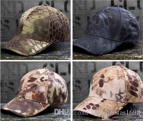 Hot Wild Cotton Tactical Baseball Cap Camouflage Adjustable Military ... bf79c1e39ead
