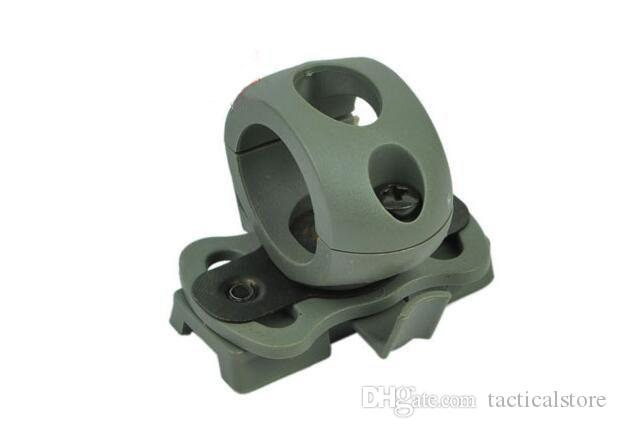 Airsoft Tactical 21mm Helmet Clamp Adaptor For Fast Helmet Army Cycling Men Outdoor Sports Bicycle Skate Hunting