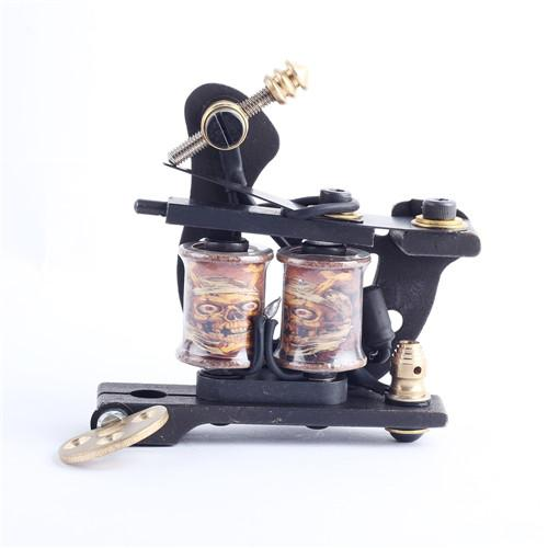 Top Selling Copper Tattoo Machine 10 Laps Coils Handmade Tattoo Gun For Shader and Liner