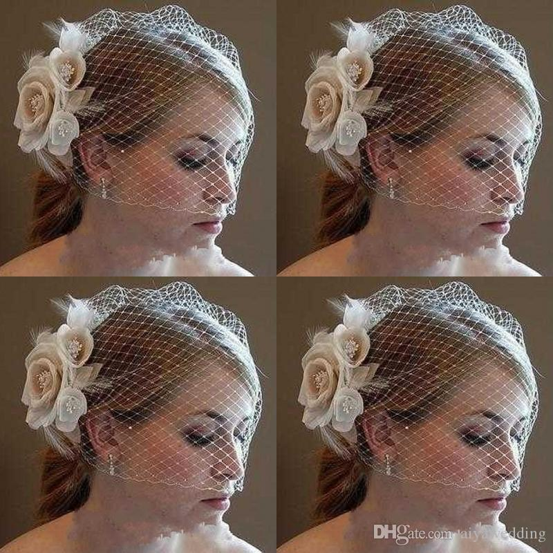 New Bride Accessories including bridal Hats weddings events Fabric Netting Hot Sale Formal Occasion Kids Bridal Veils Suruimei