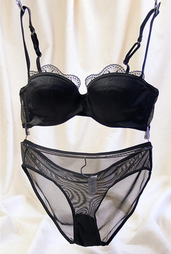 ceed603edb Ladies Underwear Lingerie High Quality Sexy Luxury Lace Push Up Satin Bra  Sets   Panty 32 34 36 38 A B C D High Quality Bra Set Luxury Satin Lingerie  Set ...