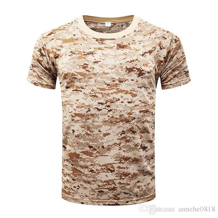 Hunting Hiking Camping Short Sleeve Camouflage Black Python Compression T-shirt Quick-dry Elastic Tattoo Cotton T-shirts