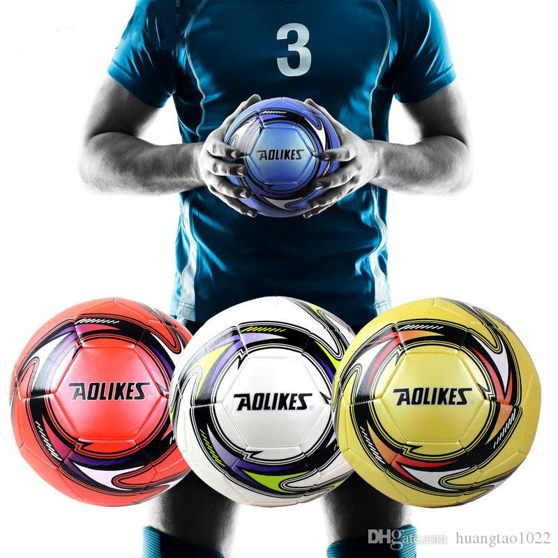 5# Match Competition Football Gift AOLIKES Brand Student Training Ball Wear Resistant High Elastic Soccer Regular 11 People