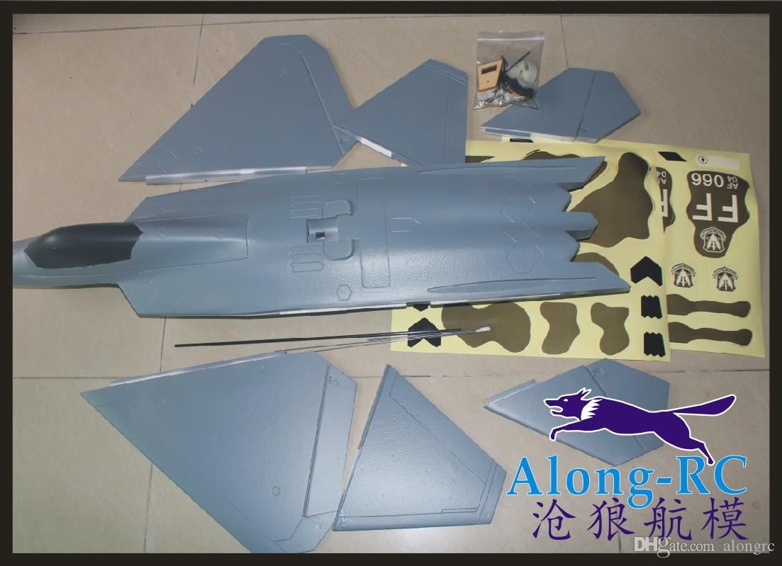power system mutual conversion version F-22 raptor 64mm EDF PLANE or pusher EPO plane airplane RC MODEL HOBBY TOY