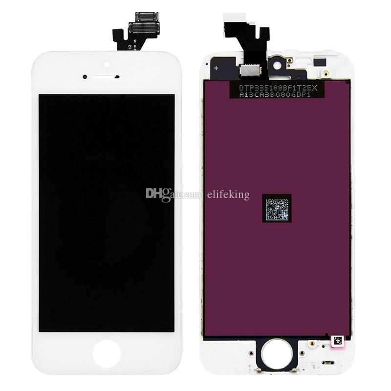 Display lcd para o iphone 5 5s 5c 6 6 plus touch screen substituição digitador assembléia painel de toque lcd 100% testado