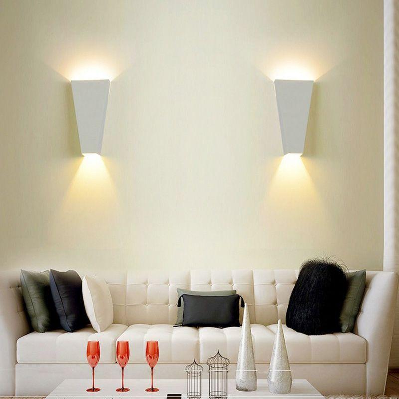 6 W Indoor LED Arandela Luminária Up Down Wall Lâmpada para Sala de estar Quarto Corredor Escada