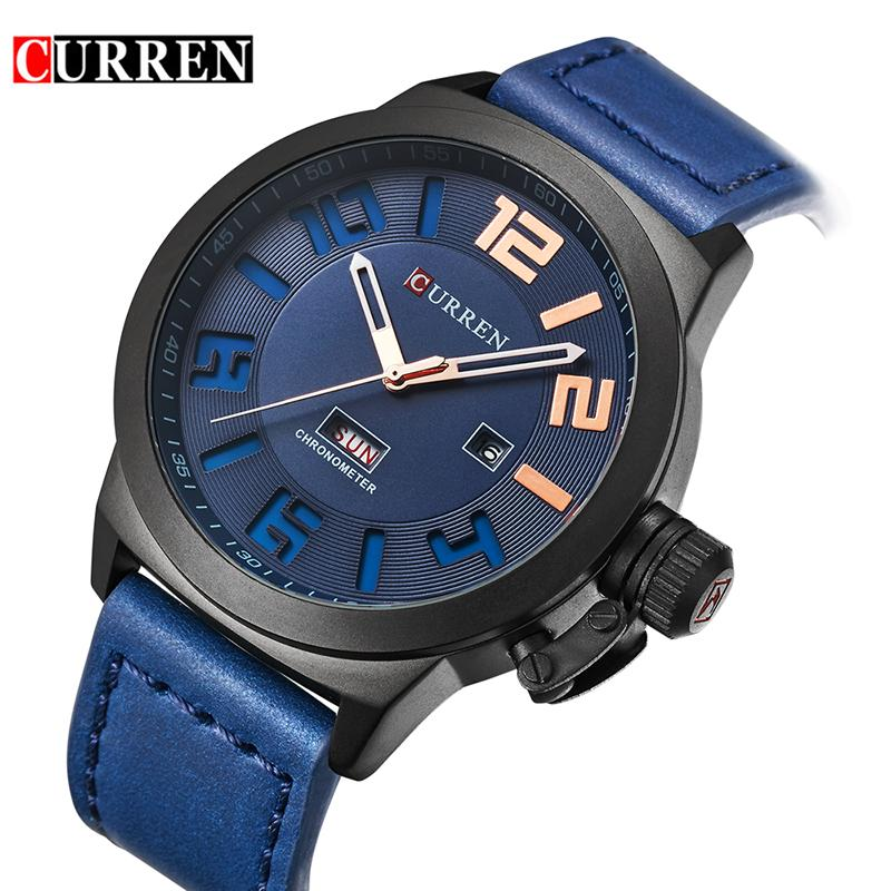 68571f6ba6f Curren Men Business Watches Relogio Masculino Luxury Military Wristwatches  Fashion Casual Quartz Watch Water Resistant Calendar 8270 Buying Watches  First ...