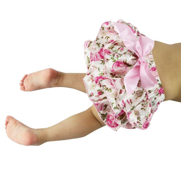 Mix Baby Bloomers Girls Pettiskirt TUTU underwear Panties Toddle Kids Underpants infant newborn ruffled satin PP pants Kids Cloth