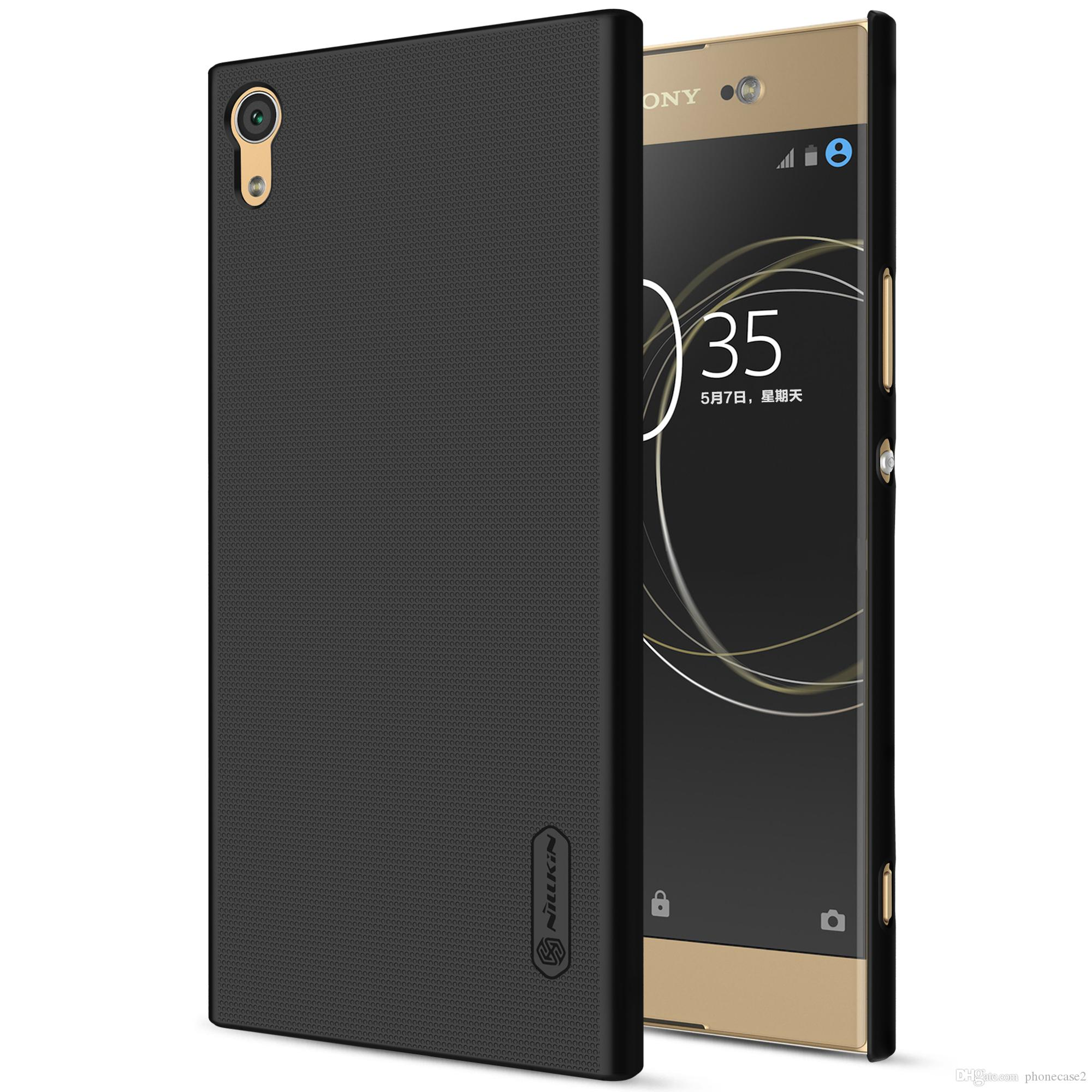 buy online eccee baebd Nillkin frosted Shield case For SONY Xperia XA1 Ultra phone case hard PC  Plastic back cover for Xperia XA1 Ultra 6.0inch